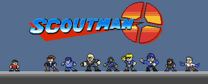 Scoutman Title Screen