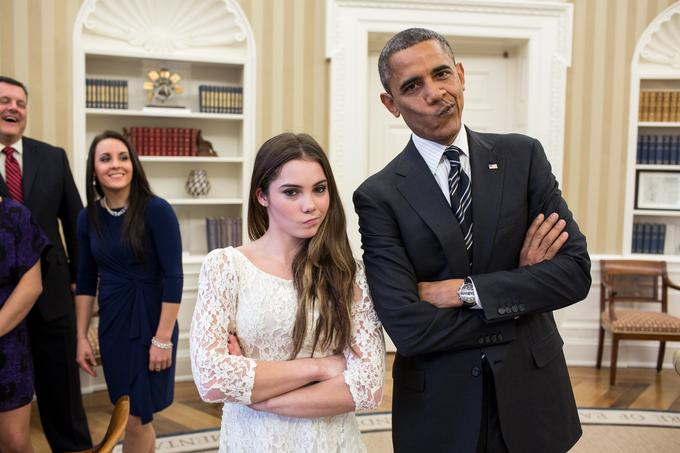 Obama and McKayla are unimpressed