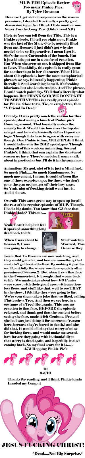 Another Review, I tried to put some Ponies in it to keep you Happy :D