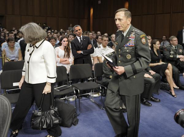 McKayla and Barak are NOT impressed with General Petraeus