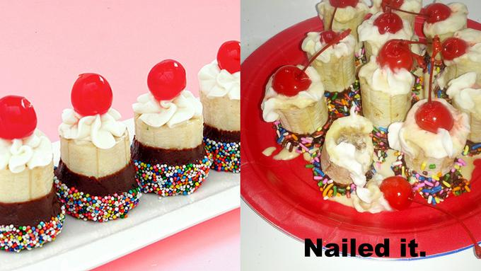 Mini Banana Splits
