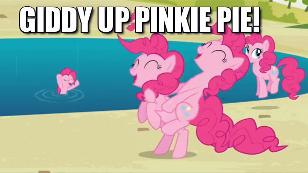 Giddy Up Pinkie Pie!