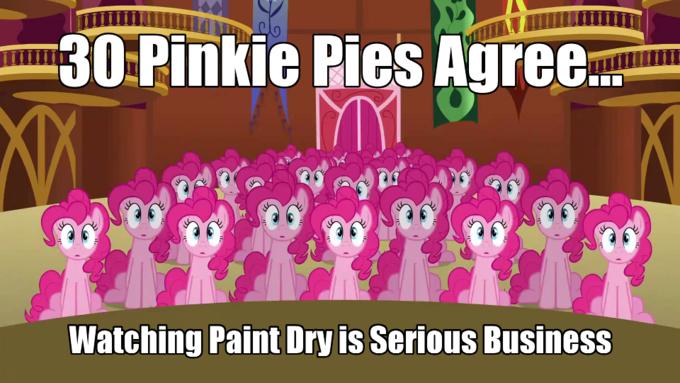 Thirty Pinkie Pies Agree