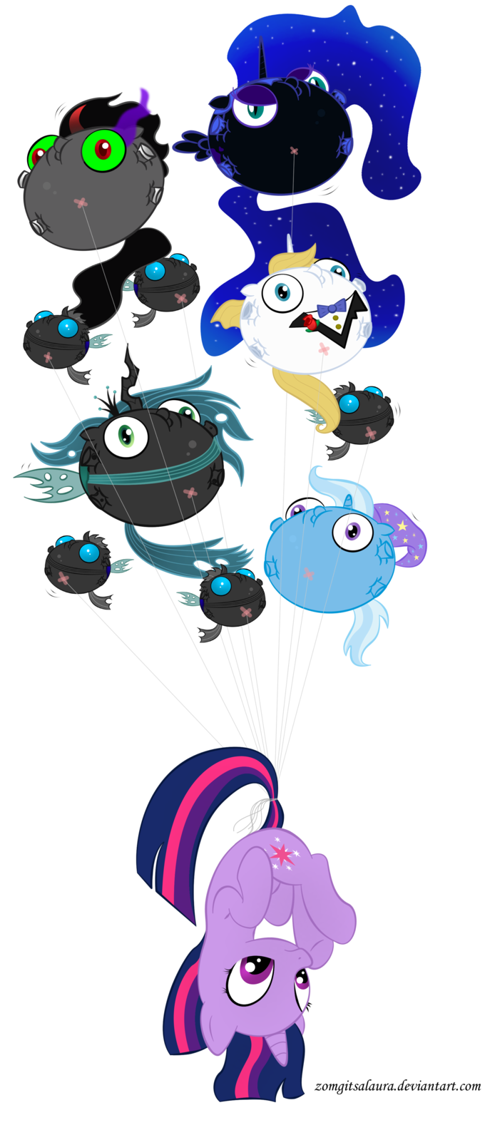Evil Balloon Attack