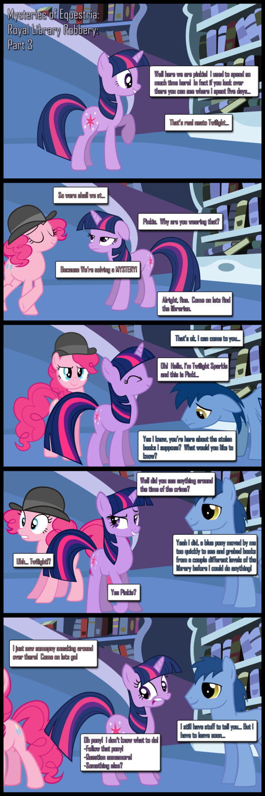 Mysteries of Equestria: Library Robbery: Part 3