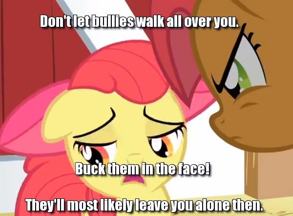 Don't let bullies walk all over you