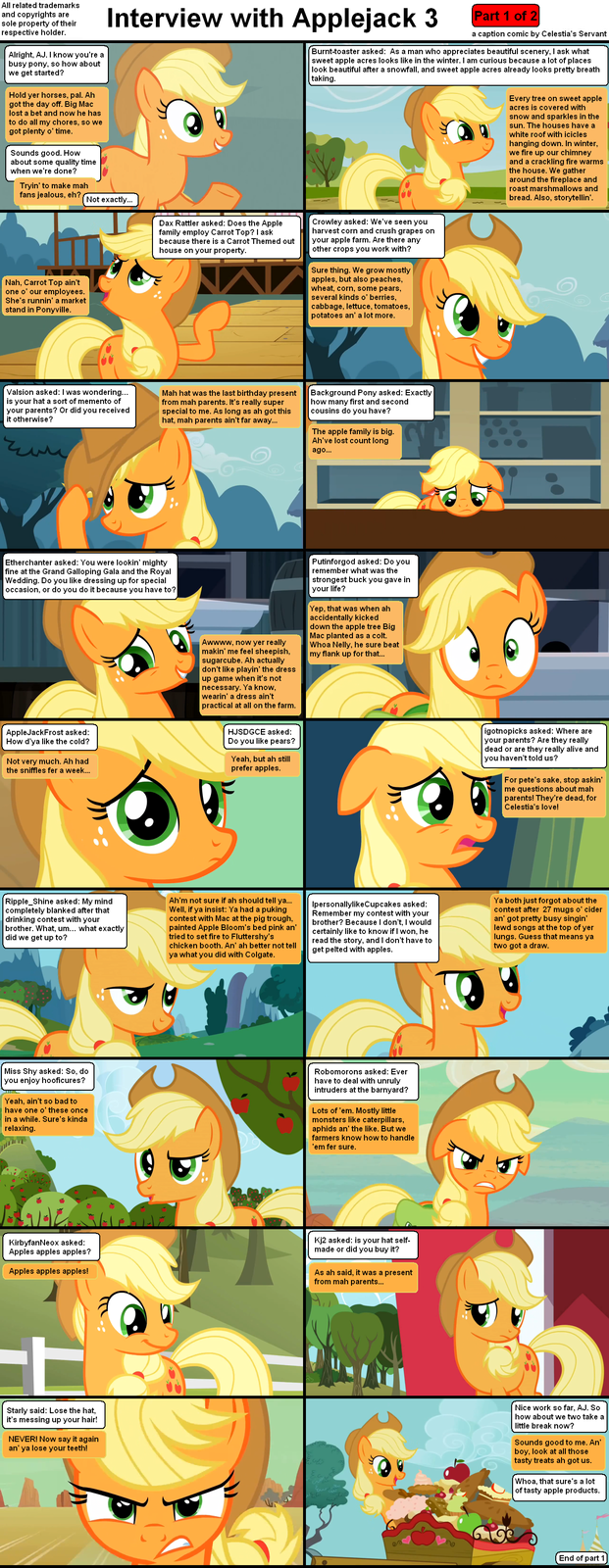 Interview with Applejack 3