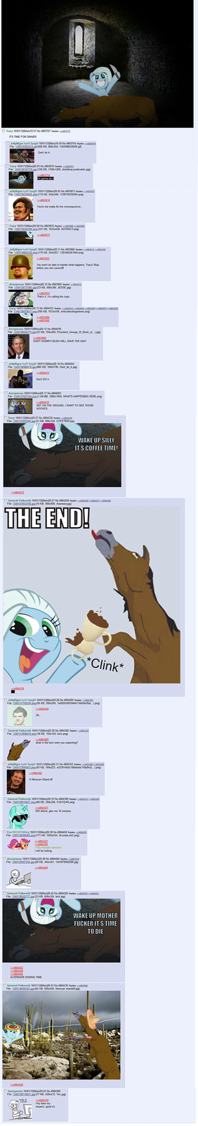 Just another day on /mlp/...