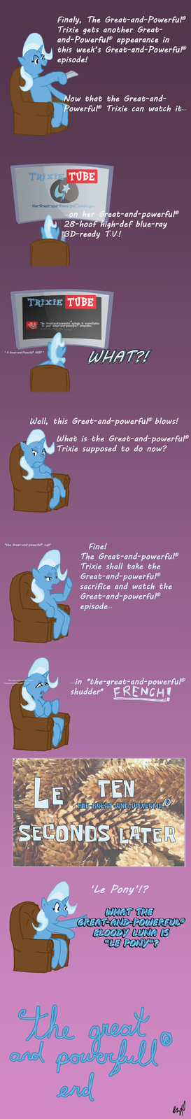 The Great and Powerful (r) comic