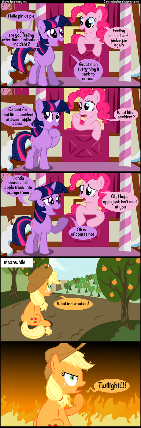 You done it now Twilight
