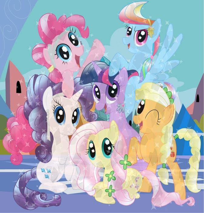 Friendship is magic: Crystal edition