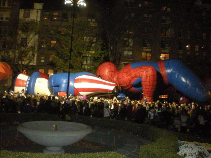 Spidey gives his thanks