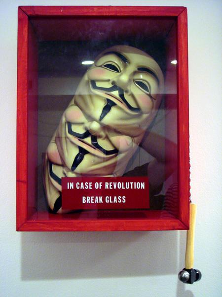 In case of revolution, break glass.