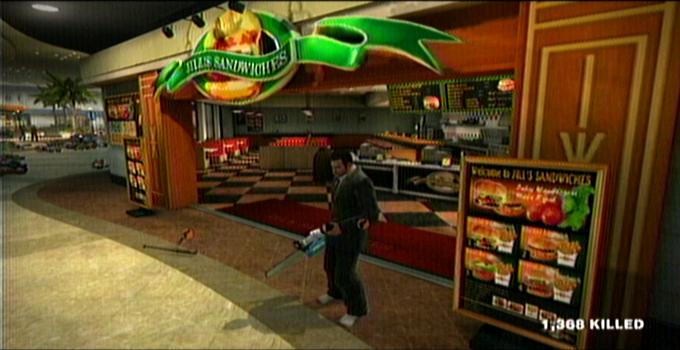 Dead Rising Jill's sandwiches