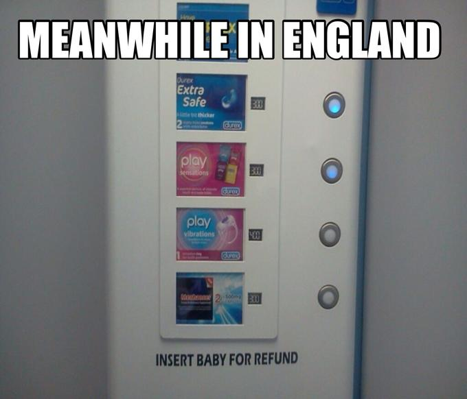 Meanwhile in England...