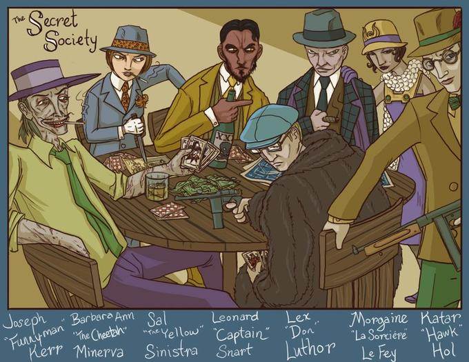 Jazz Age JLA Villains