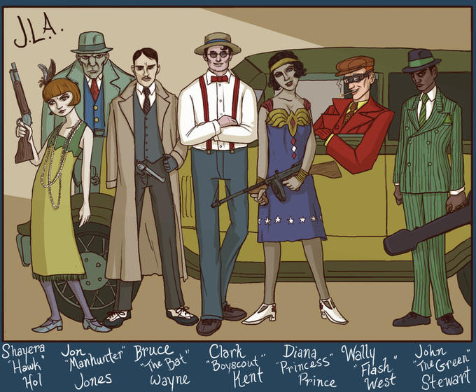 Jazz Age Justice League