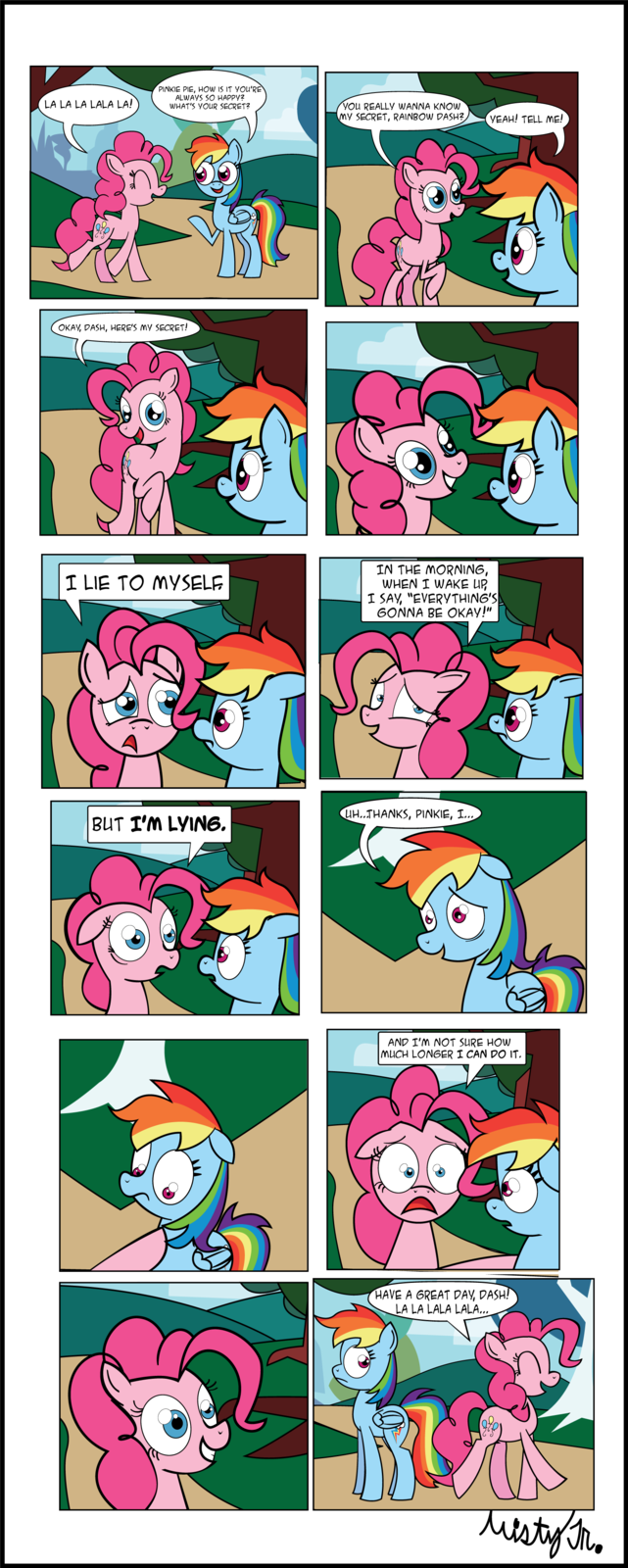 Pinkie's Secret to Happiness