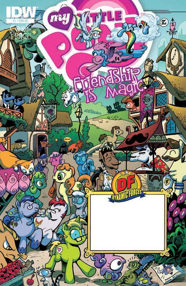 comic image my little pony