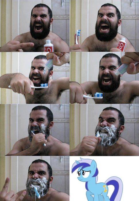 Brush brush...brush?