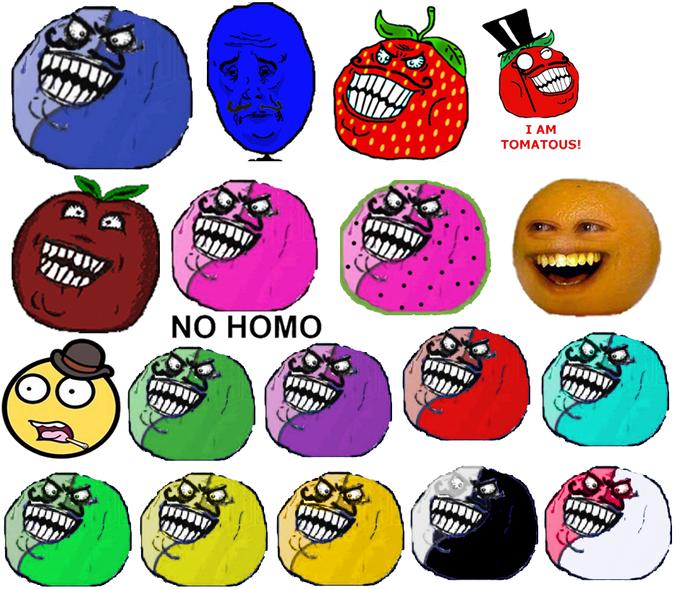 le fruit men crew