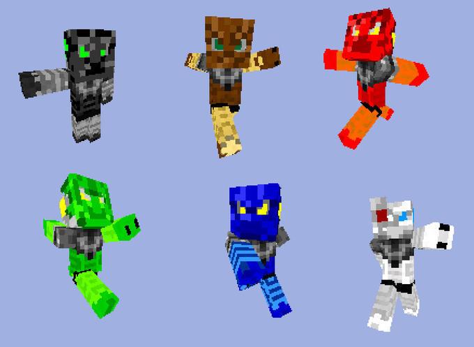 BIONICLE Minecraft