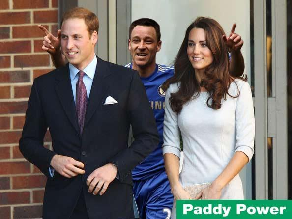 John Terry Celebrates Royal Pregnancy