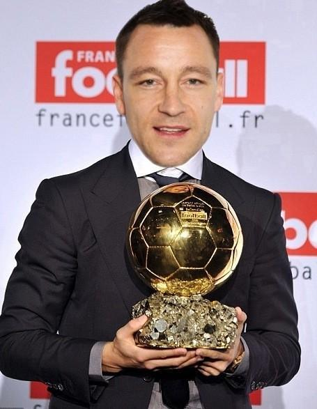 John Terry wins the Ballon d'Or