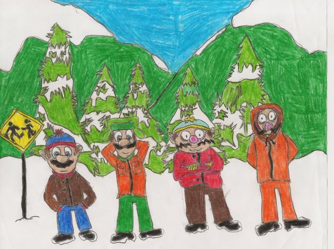 South Park - Mario edition