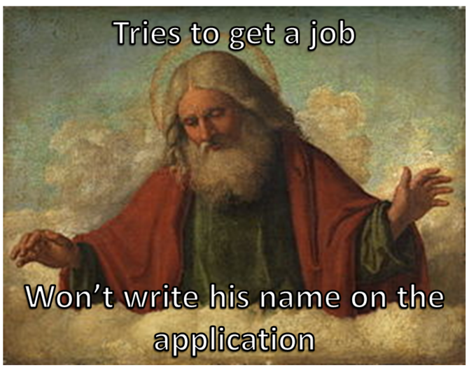 God Gets a Job