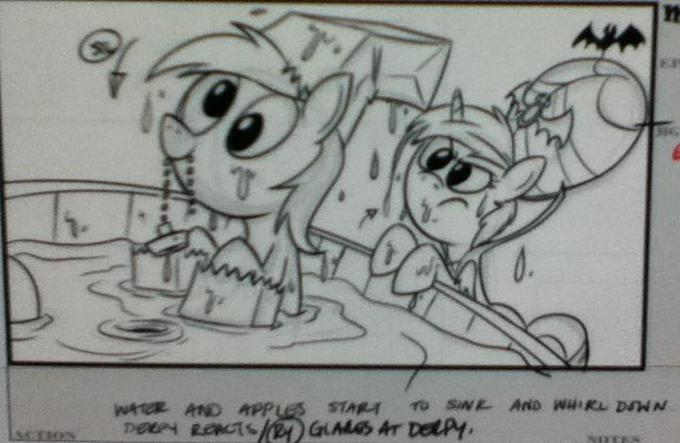 Storyboard For Nightmare Night Episode