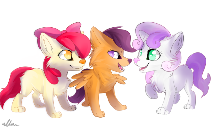 wolf Cutie mark crusaders
