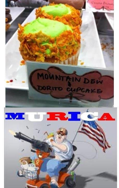 'Murican Cupcakes