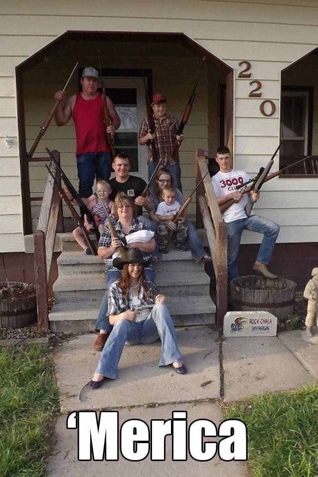 Hillbilly gun show
