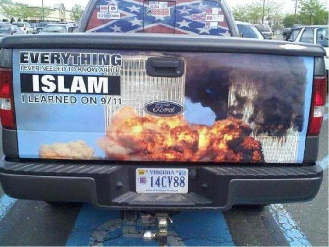 Everything I learned about Islam I learned on 9/11