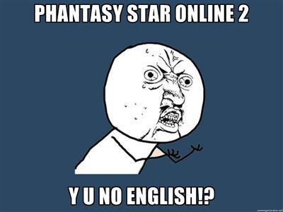 Y U No English