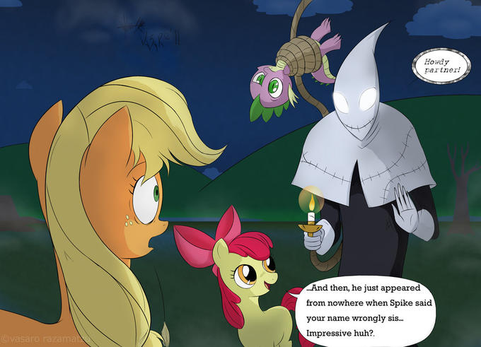 Is Applejack, no Candlejack...