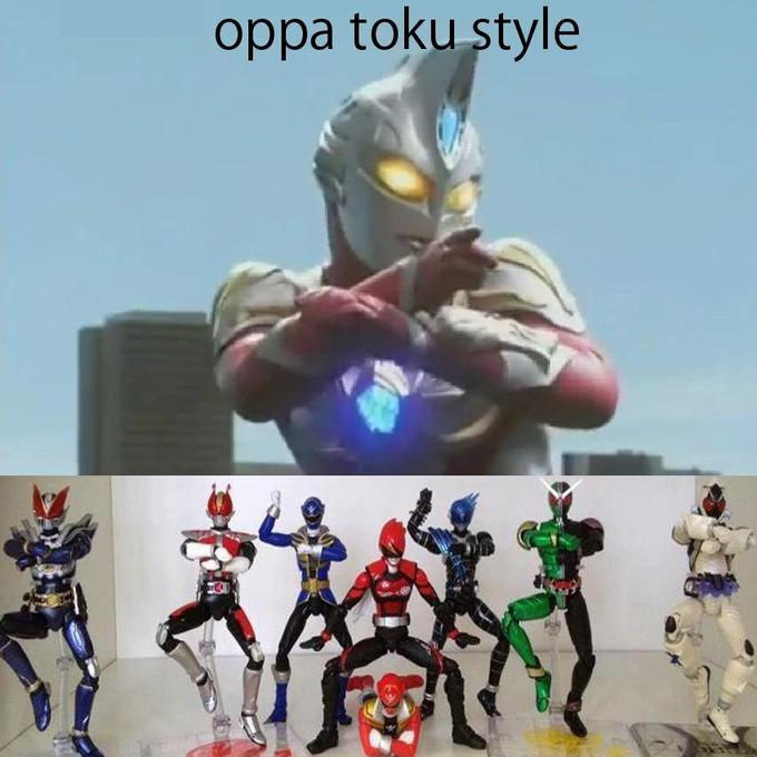 toku style psy gangnam style know your meme