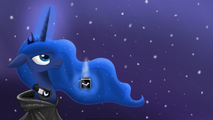 Winter Luna