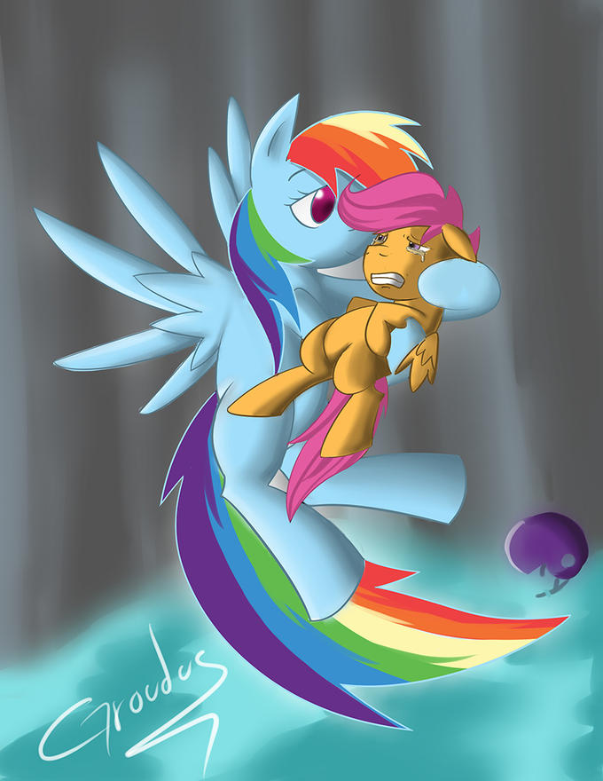 Rainbow dash im sorry