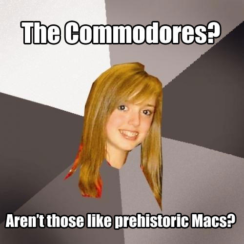 Musically Oblivious 8th Grader - The Commodores