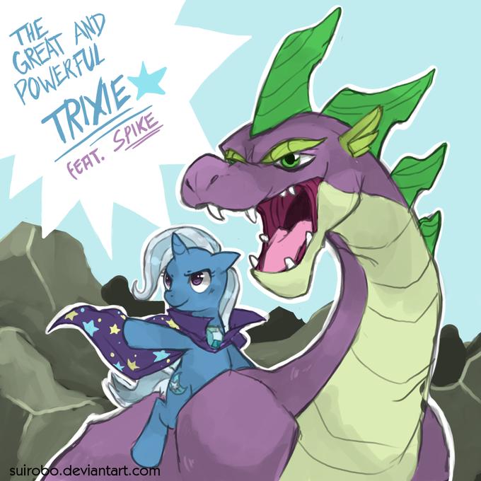 Dragon Rider Trixie