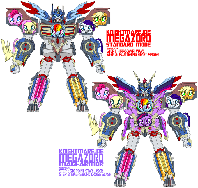 Knight Mare Joe Megazord