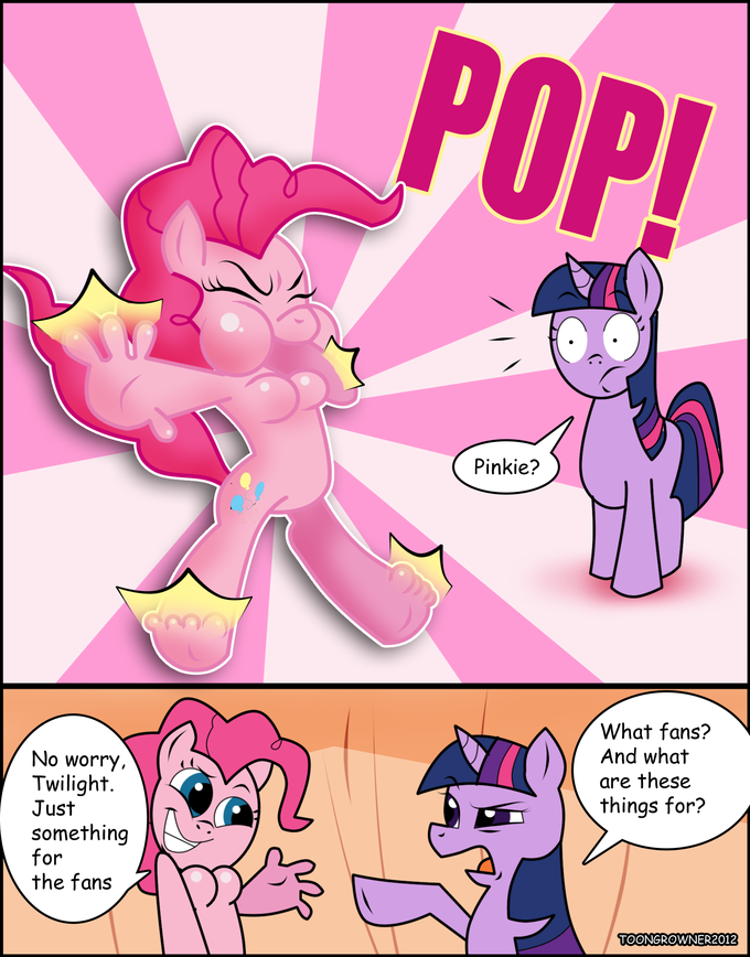 Blow up Pinkie furry