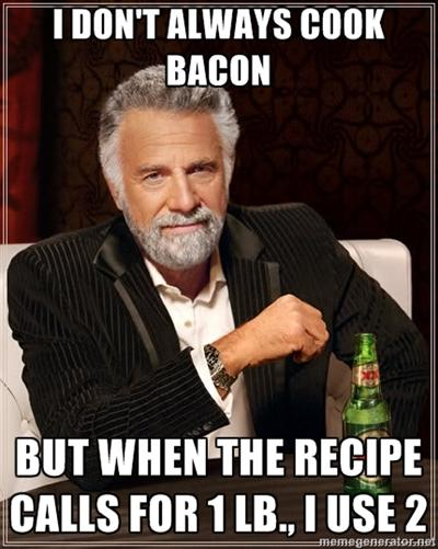 I Don't Always Cook Bacon...