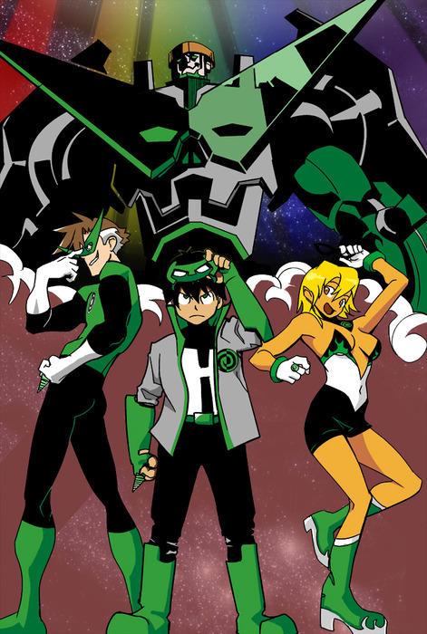 Tengen Toppa Green Lantern
