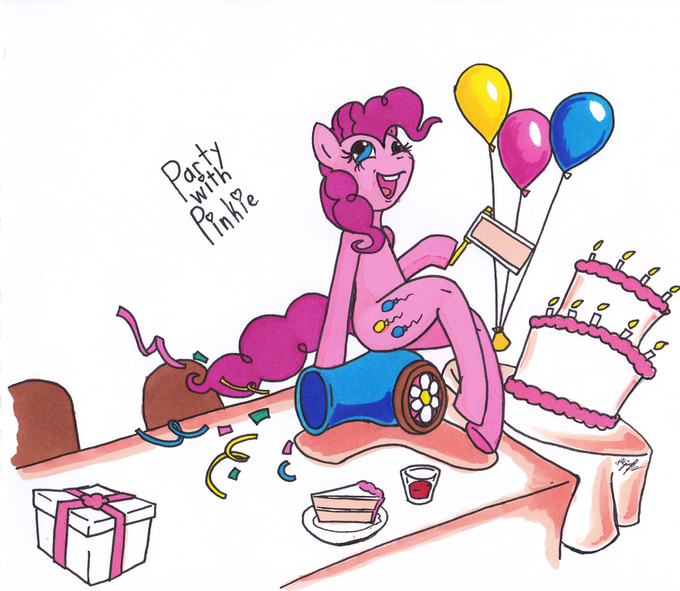 Party with Pinkie