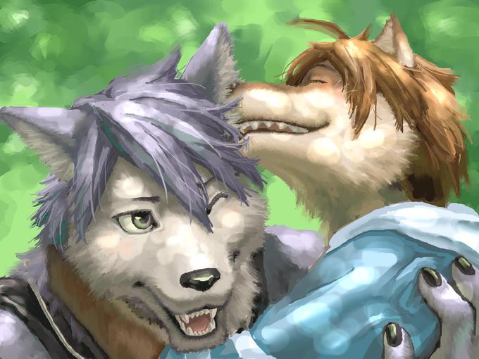 Kouya and Shun by Mohatch