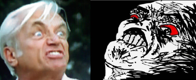 Ted Knight vs Inglip Rage-Off