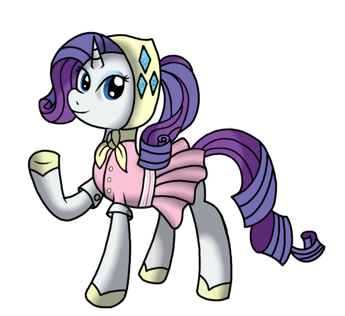 Rarity's Outdoor Outfit